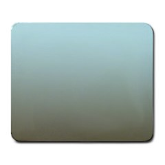 Blue Gold Gradient Large Mouse Pad (Rectangle)
