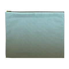 Blue Gold Gradient Cosmetic Bag (XL)