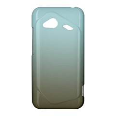 Blue Gold Gradient HTC Droid Incredible 4G LTE Hardshell Case