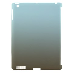 Blue Gold Gradient Apple Ipad 3/4 Hardshell Case (compatible With Smart Cover)