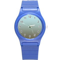 Blue Gold Gradient Plastic Sport Watch (Small)
