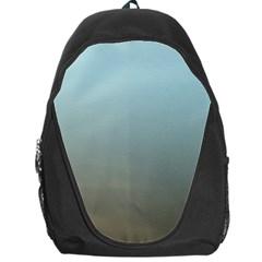 Blue Gold Gradient Backpack Bag