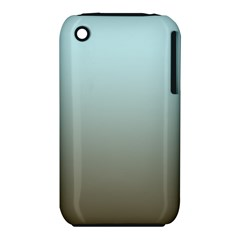 Blue Gold Gradient Apple iPhone 3G/3GS Hardshell Case (PC+Silicone)