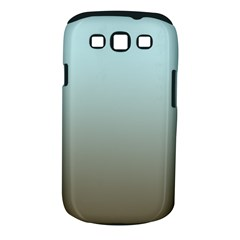 Blue Gold Gradient Samsung Galaxy S III Classic Hardshell Case (PC+Silicone)
