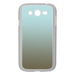 Blue Gold Gradient Samsung Galaxy Grand DUOS I9082 Case (White)