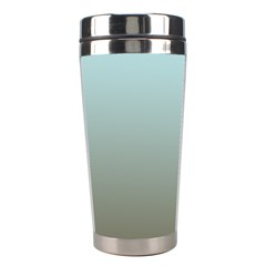 Blue Gold Gradient Stainless Steel Travel Tumbler