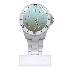 Blue Gold Gradient Nurses Watch