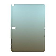 Blue Gold Gradient Samsung Galaxy Note 10.1 (P600) Hardshell Case