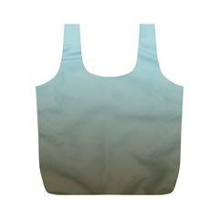 Blue Gold Gradient Reusable Bag (M)