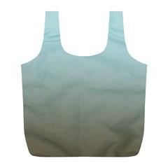 Blue Gold Gradient Reusable Bag (L)