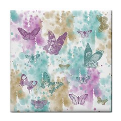 Joy Butterflies Ceramic Tile