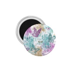 Joy Butterflies 1.75  Button Magnet