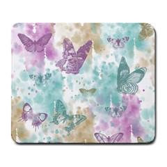 Joy Butterflies Large Mouse Pad (Rectangle)