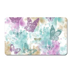 Joy Butterflies Magnet (Rectangular)