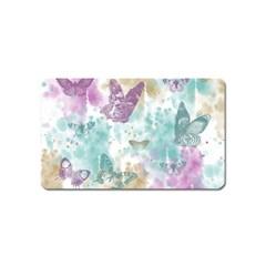 Joy Butterflies Magnet (Name Card)