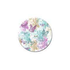 Joy Butterflies Golf Ball Marker 4 Pack