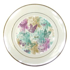 Joy Butterflies Porcelain Display Plate