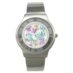 Joy Butterflies Stainless Steel Watch (Slim)