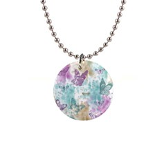 Joy Butterflies Button Necklace