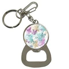 Joy Butterflies Bottle Opener Key Chain