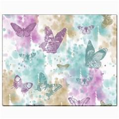 Joy Butterflies Canvas 8  x 10  (Unframed)