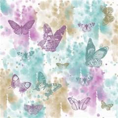 Joy Butterflies Canvas 20  x 20  (Unframed)