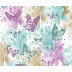 Joy Butterflies Canvas 20  x 24  (Unframed)