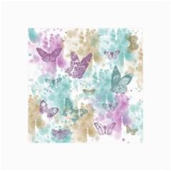 Joy Butterflies Canvas 24  x 36  (Unframed)