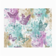 Joy Butterflies Glasses Cloth (small, Two Sided)