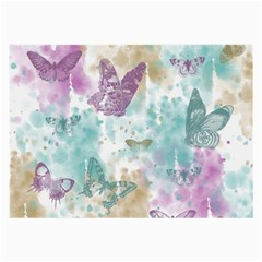 Joy Butterflies Glasses Cloth (Large, Two Sided)