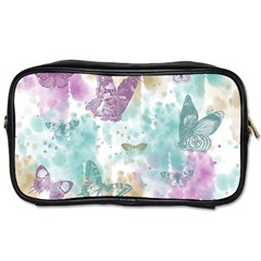 Joy Butterflies Travel Toiletry Bag (Two Sides)