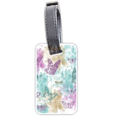 Joy Butterflies Luggage Tag (two Sides)