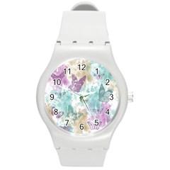 Joy Butterflies Plastic Sport Watch (Medium)