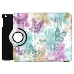 Joy Butterflies Apple iPad Mini Flip 360 Case
