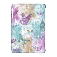 Joy Butterflies Apple iPad Mini Hardshell Case (Compatible with Smart Cover)