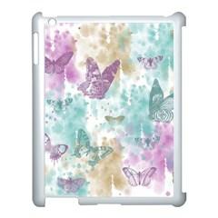 Joy Butterflies Apple iPad 3/4 Case (White)
