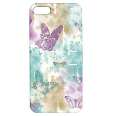 Joy Butterflies Apple Iphone 5 Hardshell Case With Stand