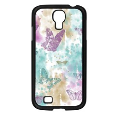 Joy Butterflies Samsung Galaxy S4 I9500/ I9505 Case (Black)