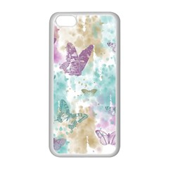 Joy Butterflies Apple Iphone 5c Seamless Case (white)
