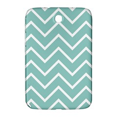 Blue And White Chevron Samsung Galaxy Note 8.0 N5100 Hardshell Case
