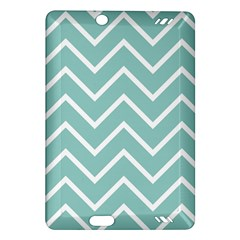 Blue And White Chevron Kindle Fire HD 7  (2nd Gen) Hardshell Case
