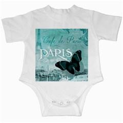 Paris Butterfly Infant Bodysuit