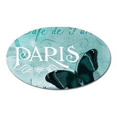 Paris Butterfly Magnet (Oval)