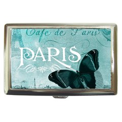 Paris Butterfly Cigarette Money Case