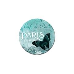 Paris Butterfly Golf Ball Marker