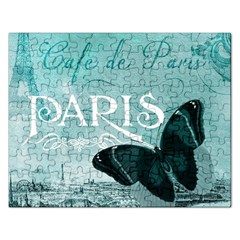 Paris Butterfly Jigsaw Puzzle (Rectangle)