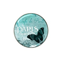 Paris Butterfly Golf Ball Marker 4 Pack (for Hat Clip)