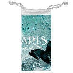 Paris Butterfly Jewelry Bag