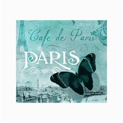 Paris Butterfly Canvas 20  x 30  (Unframed)