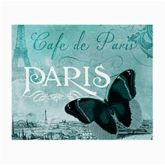 Paris Butterfly Glasses Cloth (Small, Two Sided)